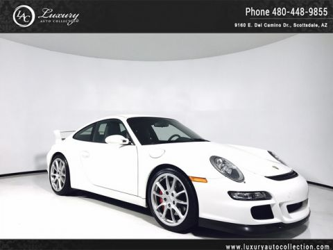 2007 Porsche 911 GT3 | Sound Package Plus | Crest Headrest | Red Calipers Rear Wheel Drive Coupe