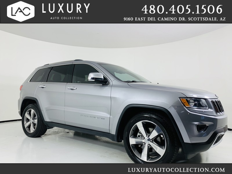 Pre-Owned 2014 Jeep Grand Cherokee Limited w/ 5.7L V8 HEMI®