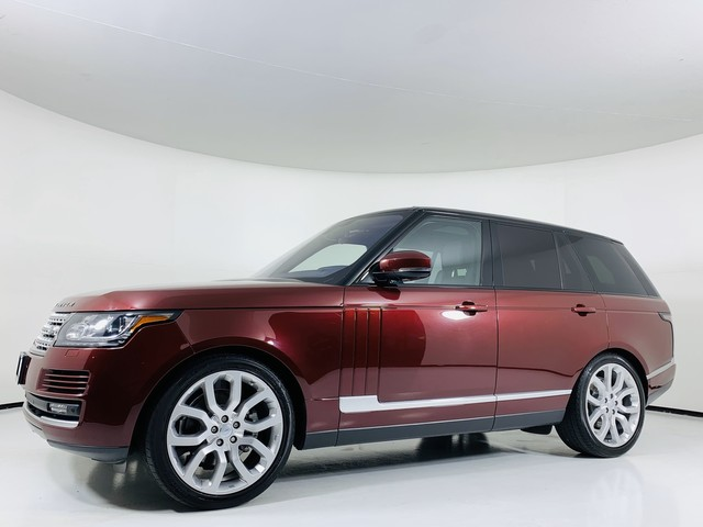 Pre-Owned 2016 Land Rover Range Rover 4WD 3.0L Turbo Diesel HSE