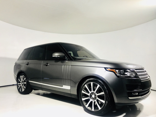 Pre-Owned 2016 Land Rover Range Rover V6 Supercharged 4WD HSE
