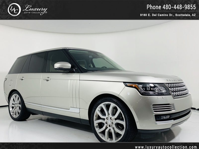 2015 Land Rover Range Rover Supercharged In Aruba Over Almond Suv In
