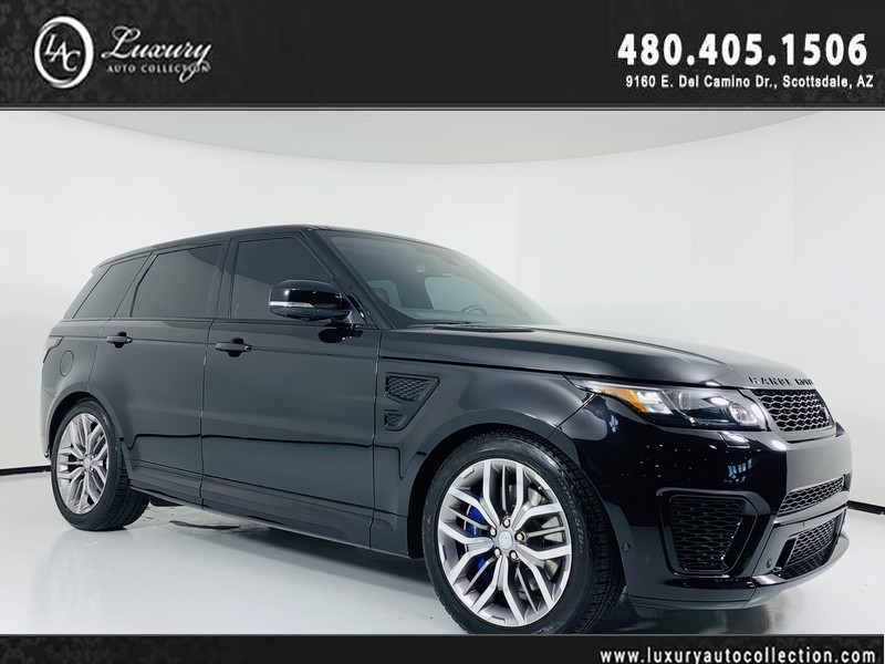 Land Rover Scottsdale >> 2015 Land Rover Range Rover Sport Svr V8 Supercharged With Navigation