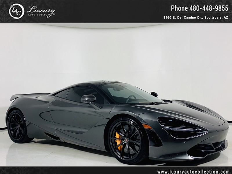 Pre-Owned 2018 McLaren 720S Performance Coupe in Storm Grey/Scoria Gry