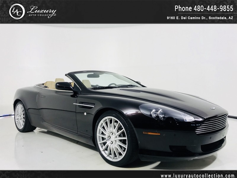 Aston Martin DB Volante Heated Seats Parking Sensors Only - Aston martin db9 pre owned