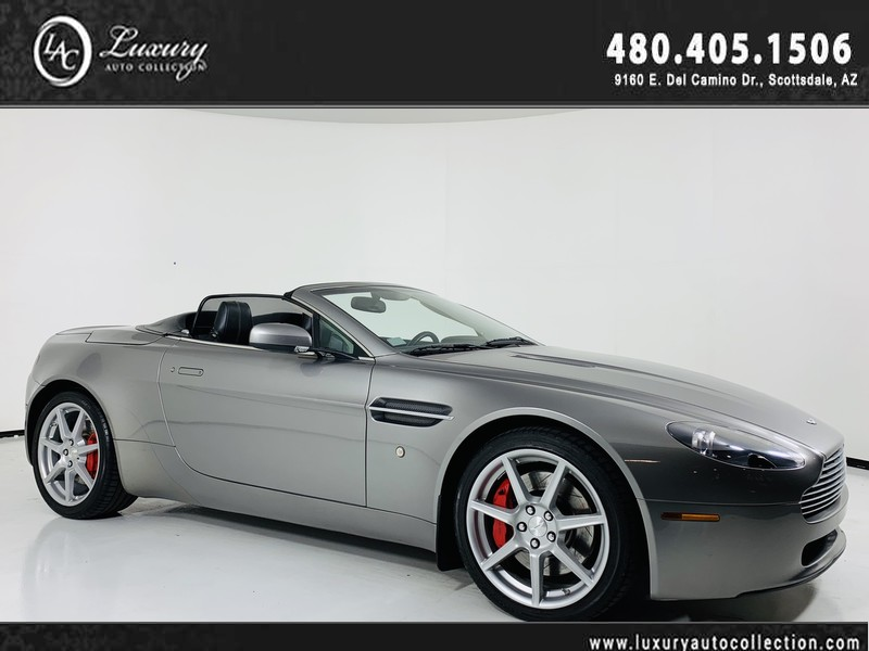 Pre-Owned 2008 Aston Martin Vantage Convertible Sportshift