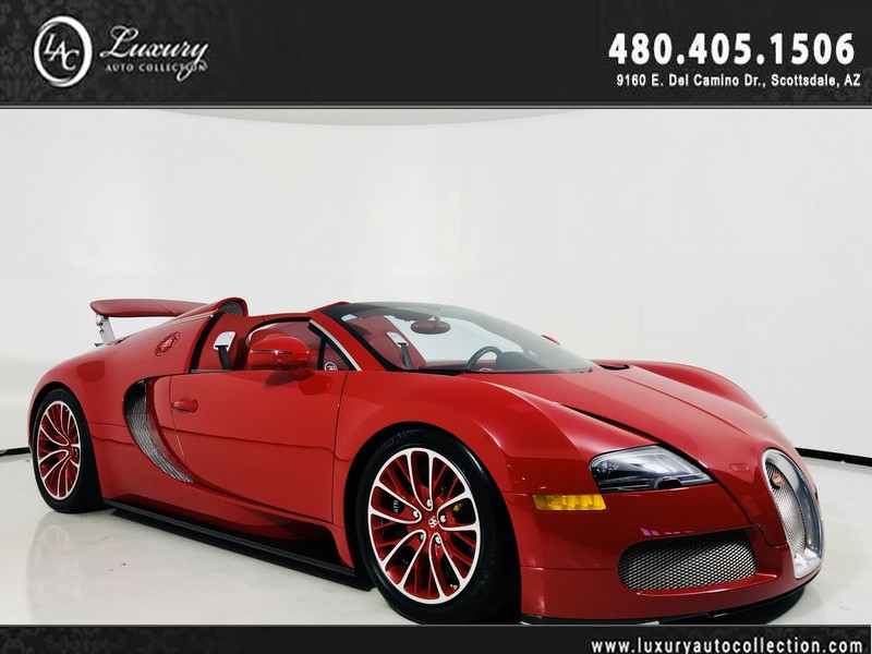 Pre-Owned 2012 Bugatti Veyron GranSport | Fresh Annual Service & Tires