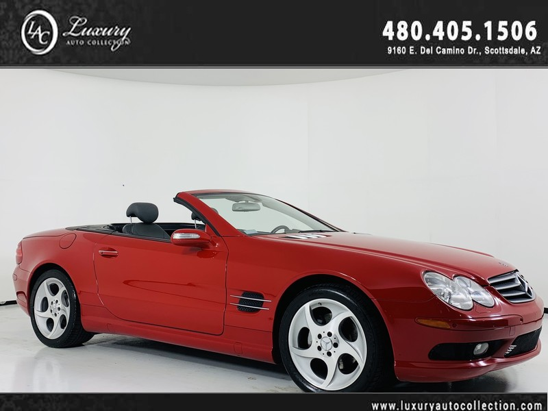 Pre-Owned 2005 Mercedes-Benz SL-Class 5.0L Roadster