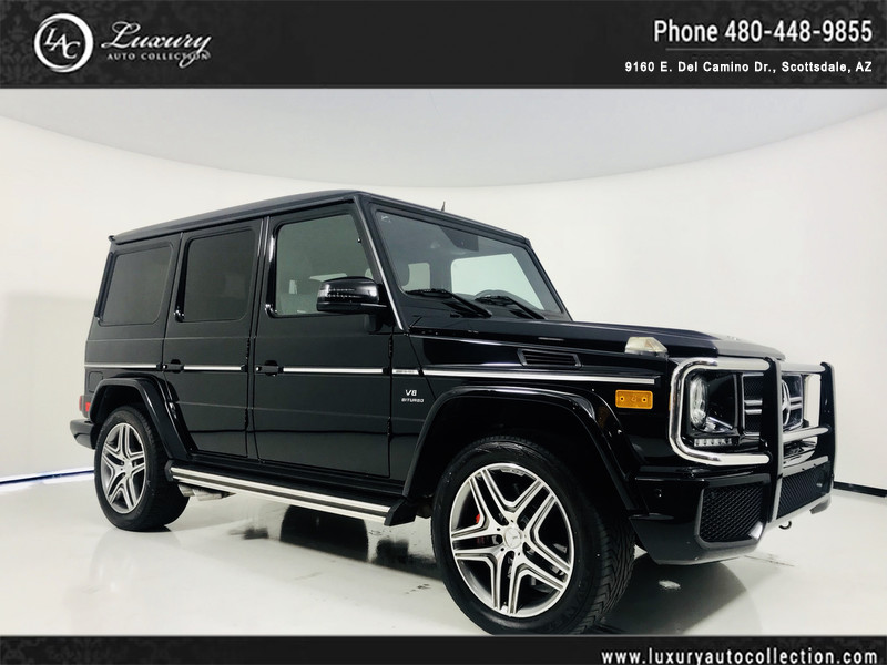 Pre-Owned 2013 Mercedes-Benz G-Class AMG® G 63 4MATIC with Designo Interior