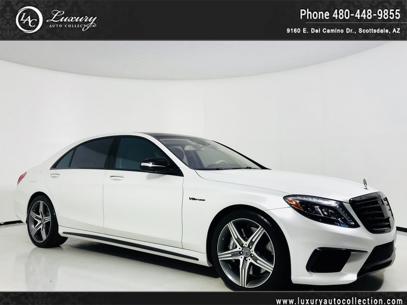 Pre Owned 2015 Mercedes Benz S Class S 63 AMG® 360 Camera