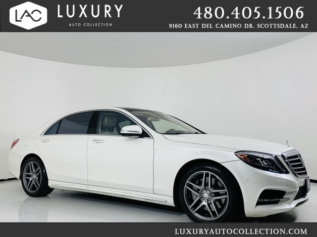 Pre-Owned 2017 Mercedes-Benz S-Class S 550 Sedan MSRP 112K