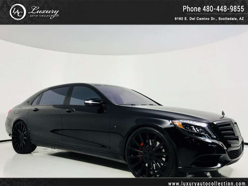 Pre Owned 2016 Mercedes Benz S Class Maybach S 600 | Forgiato Wheels