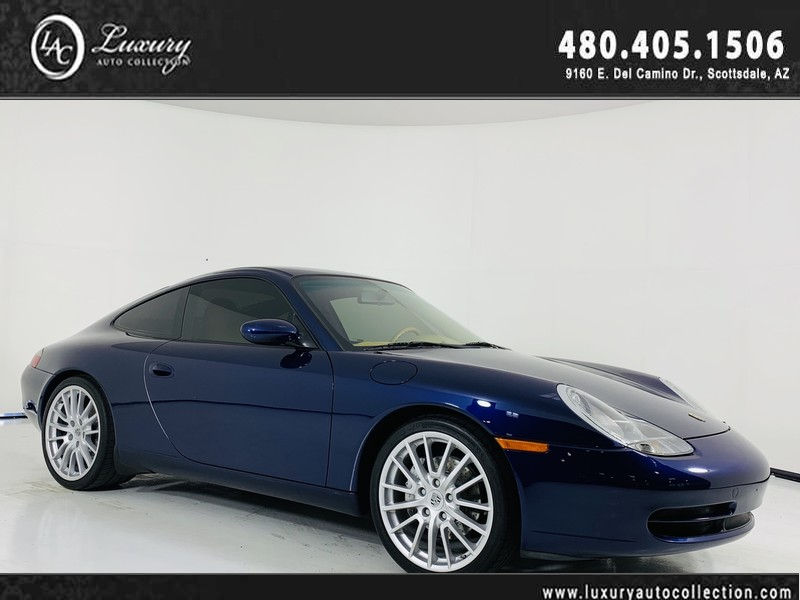 Pre-Owned 2001 Porsche 911 Carrera 4 Coupe 6-Spd Manual