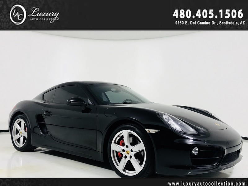 Pre-Owned 2015 Porsche Cayman S Coupe