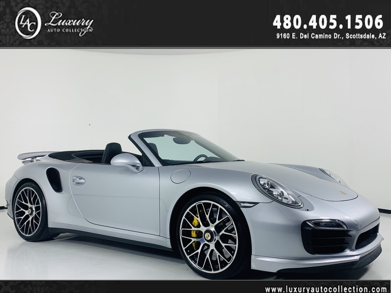 Pre-Owned 2015 Porsche 911 Turbo S Cabriolet