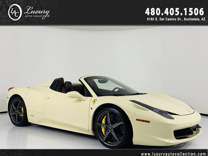 Pre-Owned 2015 Ferrari 458 Italia Convertible
