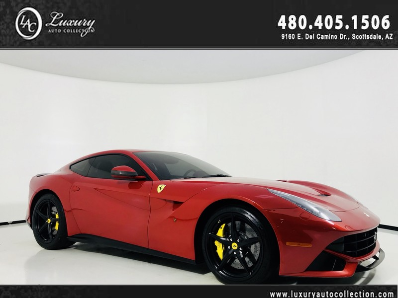 Pre-Owned 2016 Ferrari F12berlinetta Coupe in SPEC Rosso Berlinetta
