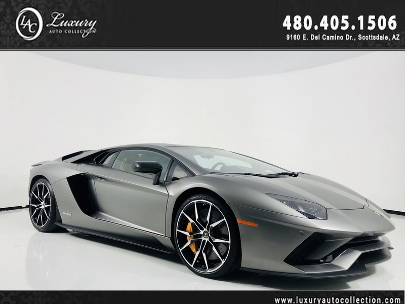 2017 Lamborghini Aventador S Coupe In Scottsdale 06411 Luxury