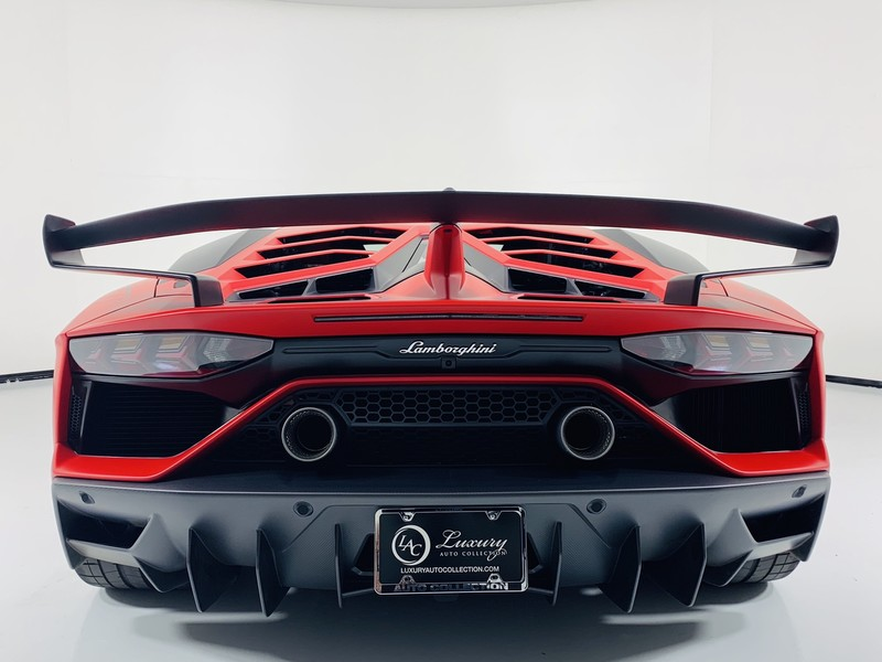 2019 Lamborghini Aventador Svj Coupe On The Ground And Available