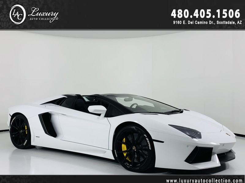 Pre-Owned 2015 Lamborghini Aventador Convertible Roadster