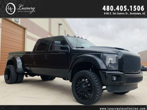 Pre-Owned 2013 Ford F-450 Super Duty 4WD Platinum w/ Compound Twin-Turbo