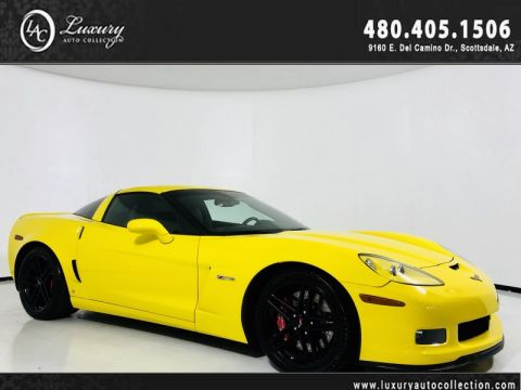 Pre-Owned 2007 Chevrolet Corvette Z06 Coupe