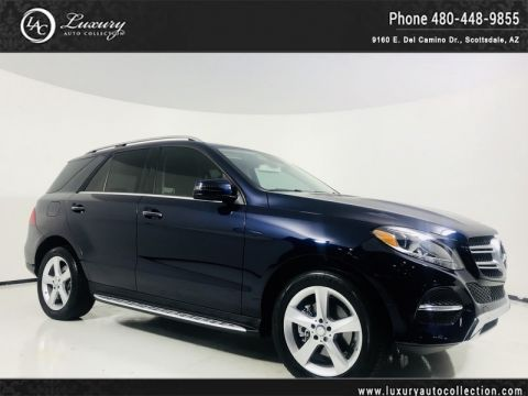 Pre-Owned 2016 Mercedes-Benz GLE 350 SUV in Lunar Blue