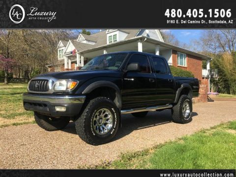 Pre-Owned 2002 Toyota Tacoma DoubleCab V6 Auto 4WD