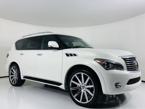 Pre-Owned 2011 INFINITI QX56 4WD 7-passenger