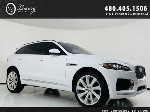 Pre-Owned 2018 Jaguar F-PACE S AWD