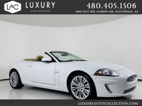 Pre-Owned 2011 Jaguar XK 2dr Convertible