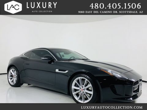 Pre-Owned 2016 Jaguar F-TYPE S Supercharged V6 Coupe