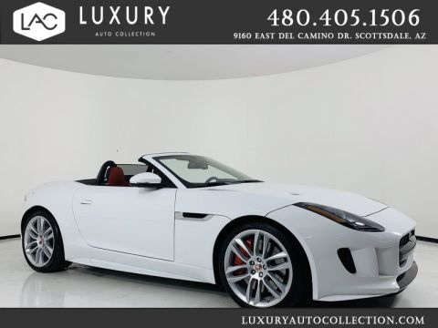Pre-Owned 2016 Jaguar F-TYPE R Supercharged V8 Convertible