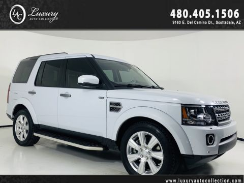 Pre-Owned 2015 Land Rover LR4 HSE with 3rd Row