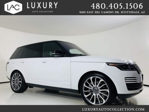 Pre-Owned 2018 Land Rover Range Rover SE V6 Supercharged SWB