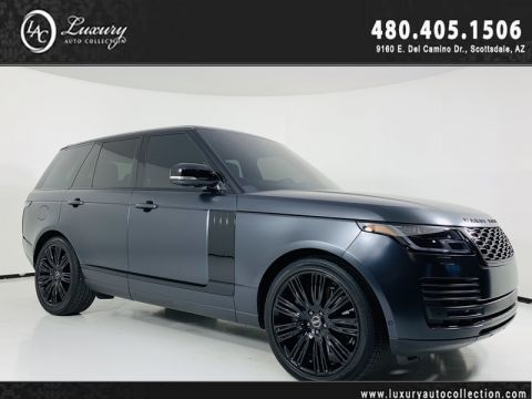 Pre-Owned 2018 Land Rover Range Rover Supercharged V8