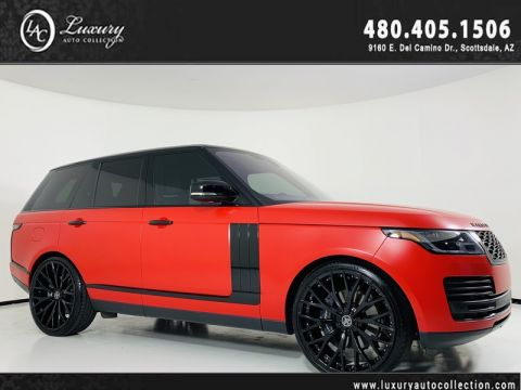 Pre-Owned 2018 Land Rover Range Rover V6 Supercharged HSE