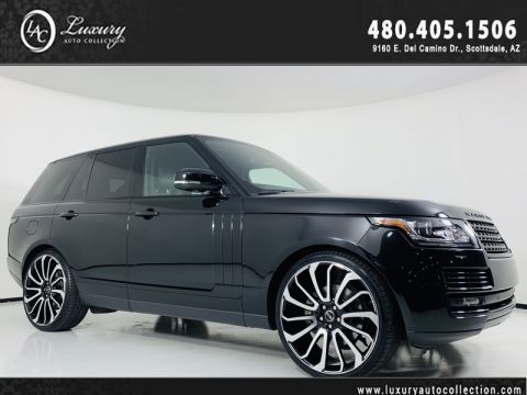 Pre-Owned 2015 Land Rover Range Rover V6 Supercharged HSE