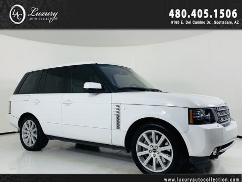 Pre-Owned 2012 Land Rover Range Rover SC