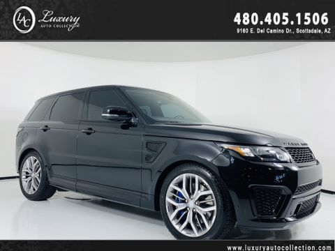 Pre-Owned 2015 Land Rover Range Rover Sport SVR V8 Supercharged
