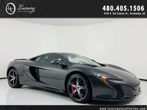 Pre-Owned 2015 McLaren 650S Coupe in Storm Grey