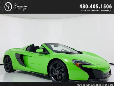 Pre-Owned 2015 McLaren 650S Convertible Spider in Mantis Green