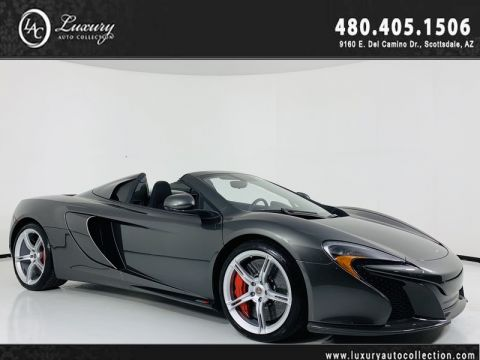 Pre-Owned 2015 McLaren 650S Convertible Spider