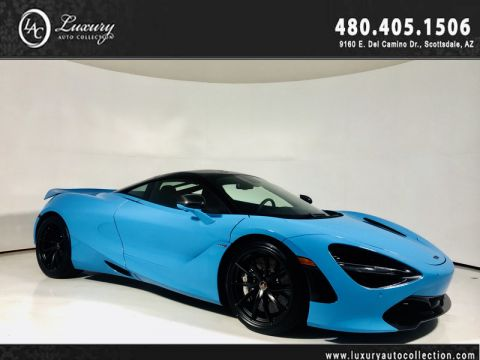 Pre-Owned 2018 McLaren 720S Performance Coupe in MSO Fistral Blue