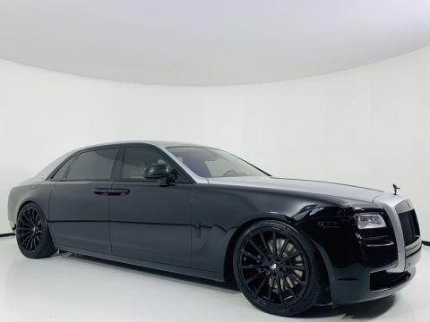 Pre-Owned 2012 Rolls-Royce Ghost EWB Sedan w/ Theatre