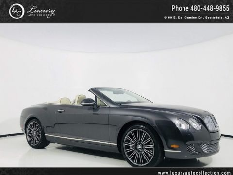 Pre-Owned 2011 Bentley Continental GT Speed Convertible