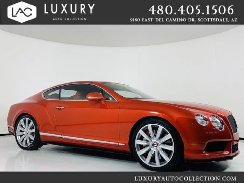 Pre-Owned 2015 Bentley Continental GT V8 S V8 S