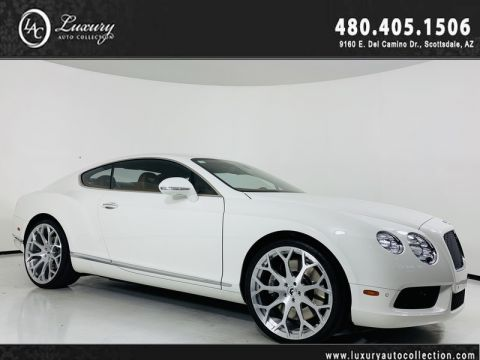 Pre-Owned 2013 Bentley Continental GT V8 Coupe