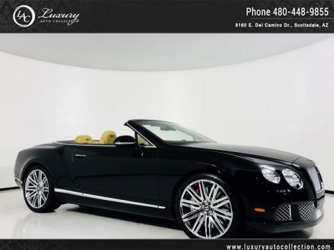 Pre-Owned 2014 Bentley Continental GT Speed Convertible W12