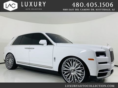 Pre-Owned 2019 Rolls-Royce Cullinan w/ 26 Wheels