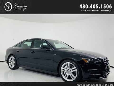 Pre-Owned 2016 Audi A6 Quattro 2.0T Premium Plus Sedan